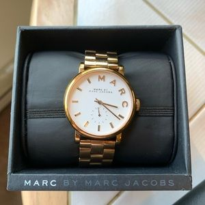 MARC by Marc Jacobs Baker Watch Rose Gold